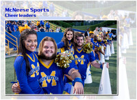 McNeese Cheerleaders