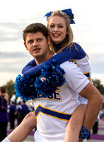 Cheerleaders UCA Football  Game 2015