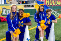 Cheerleaders Football SLU Game 2014